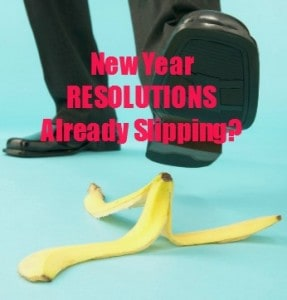 The New Year Resolutions Slip- Watch Out!