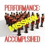 Performance Improved: Mission Accomplished